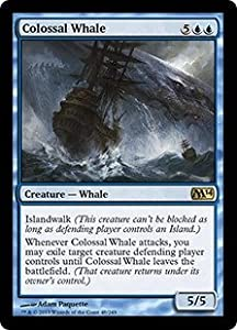 Magic: the Gathering - Colossal Whale (48/249) - Magic 2014