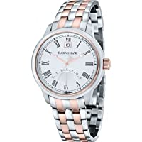Thomas Earnshaw ES-8033-33 Stainless Steel Cornwall Retrograde Mens Watch with White Dial and Analogue Display