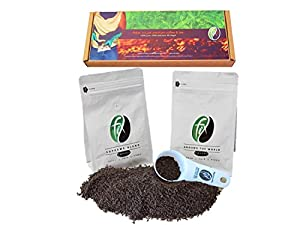 Fix Coffee Gift Box | Supreme Blend & Around the World | Ground Beans | Best Gift Set For Coffee Lovers | Gourmet Coffee | Unique Gift Pack | Fairly Sourced Coffee | Austin, Texas | Two 6 oz Bags