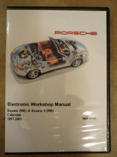 2001 Porsche Boxster & Boxster S 986 Service Repair Workshop Manual Cd