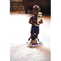 DETROIT PISTONS #1 CHAUNCY BILLIPS RARE 10 INCH NBA OFFICIAL 2004 CHAMPIONSHIP RING...