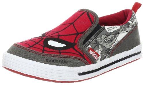 Stride Rite Spider-Man Slip-On Sneaker (Toddler/Little Kid),Red,13.5 M Us Little Kid front-43402