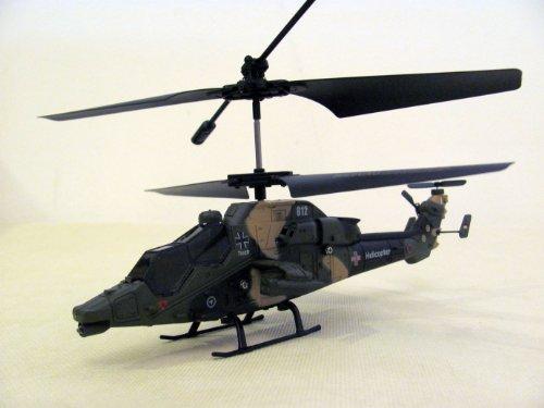 Bilder von Gemini Kampfhubschrauber Tiger Fertigmodell ferngesteuert mit GYRO