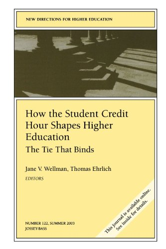 How the Student Credit Hour Shapes Higher Education: The Tie That Binds: New Directions for Higher Education (J-B HE Single Issue Higher Education)