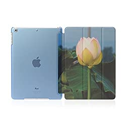 Flower Picture Style Flip Case Cover For Ipad Air /Ipad 5