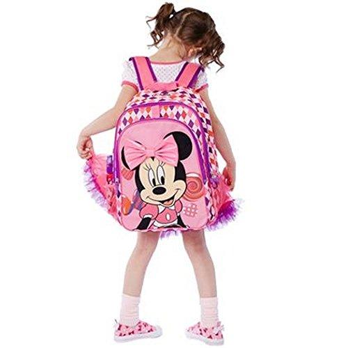 【 ディズニー 公式 】   キッズ バックパック リュック サック  ミニー   ( Disney バッグ 子供 カバン グッズ ) 正規品