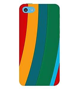 EPICCASE different colors Mobile Back Case Cover For Apple iPhone 5c (Designer Case)