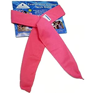 HyperKewl Evaporative Cooling Neck Band - Pink - 3 Piece Pack