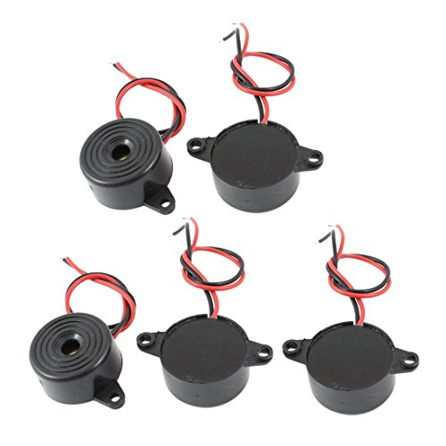 5-Pcs-DC-3-24V-85dB-Sound-Electronic-Buzzer-Alarm-Black-23-x-12mm
