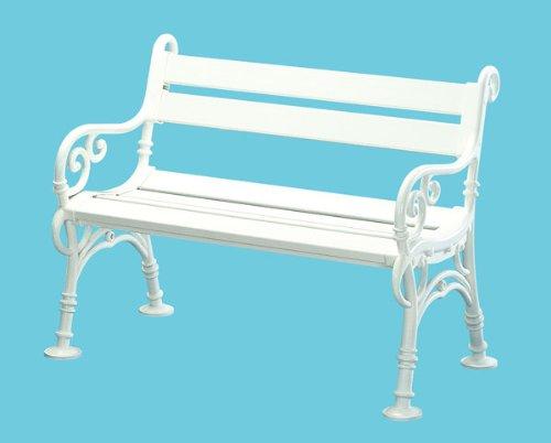 gartenm bel preisvergleich blome landhausbank weiss linderhof 3 sitzer. Black Bedroom Furniture Sets. Home Design Ideas