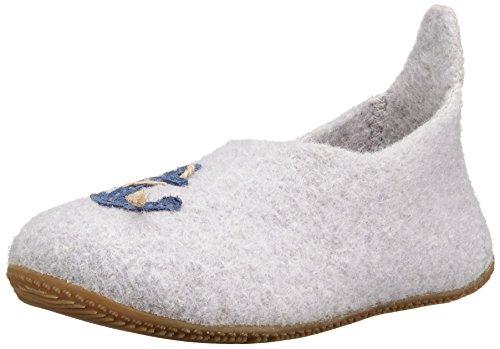living-kitzbuhel-slipper-fuchs-anker-chaussons-mixte-enfant-gris-grau-hellgrau-620-39