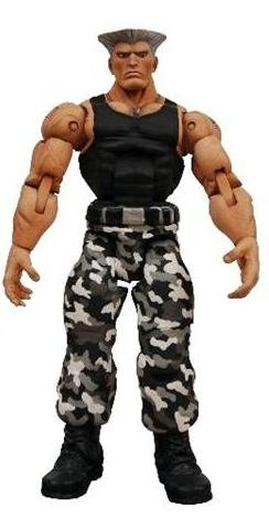 Street Fighter 4 Survival Colors Series 1 Guile Action Figure