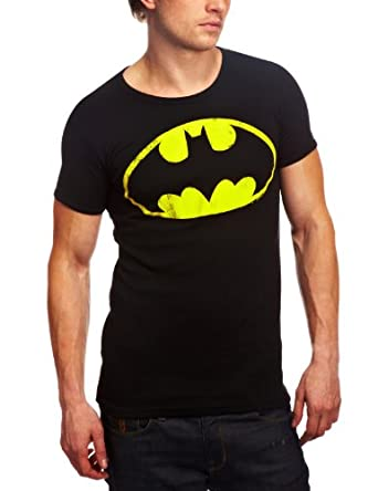 Logoshirt Batman - Logo - Tee shirt manches courtes mixte adulte - Black - XS