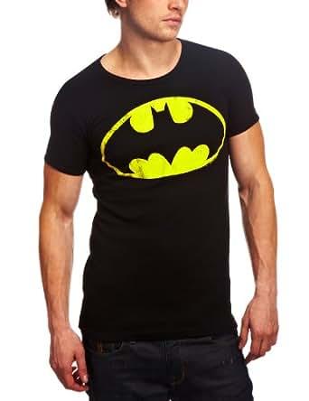 Logoshirt Batman - Logo - Tee shirt manches courtes mixte adulte - Black - XS