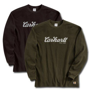Carhartt Big and Tall Long Sleeve Text Graphic T-Shirt