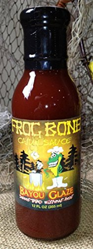 Frog Bone Bayou Glaze BBQ Sauce 3 Pack