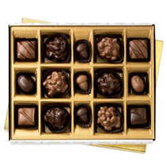 Bissinger's Classic Nut Collection, 15 piece (Gourmet,Bissinger's Handcrafted Chocolatier,)