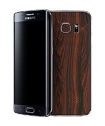 dbrand Mahogany Wood Back Mobile Skin for Samsung Galaxy S6 Edge