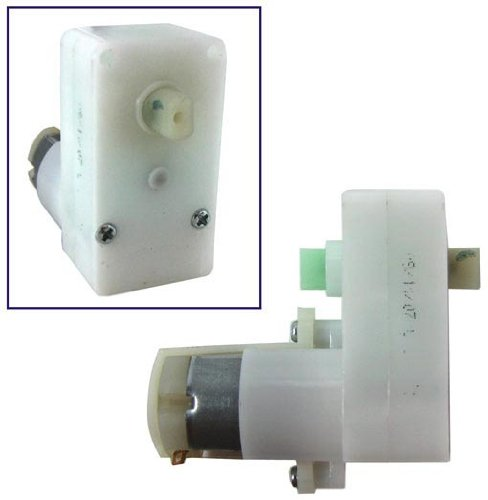 6Vdc 45 Rpm Gear Motor With A Right-Angle Gearbox. Great For Robotics!!!