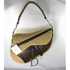 Dior Handbags (Shearling Fur) and Leather Single Saddle Bag CFA44001