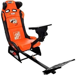 NASCAR #20 Joey Logano Home Depot Video Game Racing Seat