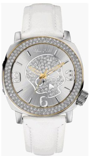 MARC ECKO GENTS WHITE/SILVER SKULL-FACE WATCH - E13524G2 - Buy MARC ECKO GENTS WHITE/SILVER SKULL-FACE WATCH - E13524G2 - Purchase MARC ECKO GENTS WHITE/SILVER SKULL-FACE WATCH - E13524G2 (Marc Ecko, Jewelry, Categories, Watches, Men's Watches, By Movement, Quartz)