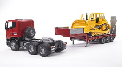 Bruder 3555 camion scania con rimorchio e bulldozer - Foto di grandi camion ...