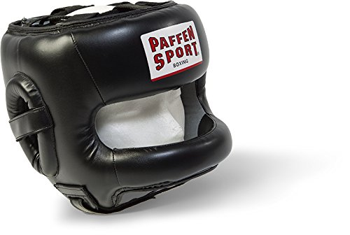 Paffen Sport STAR Kopfschutz mit Nose Protection; schwarz