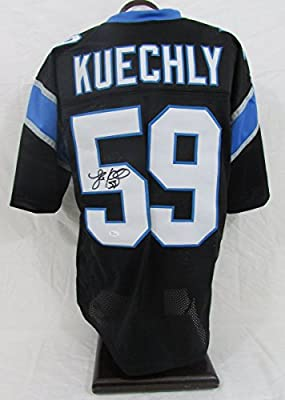 Luke Kuechly Carolina Panthers Autographed/Signed Jersey JSA