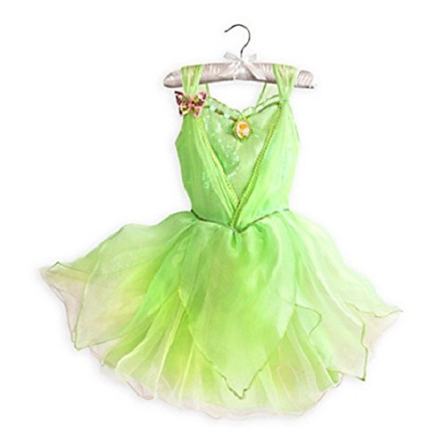 Disney Store Tinkerbell Fairies Costume for Girls