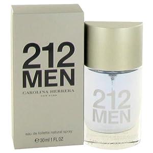 212 By CAROLINA HERRERA 1 oz Eau De Toilette Spray (New Packaging) For Men