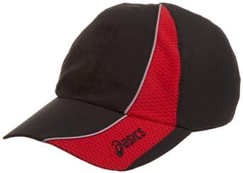 ASICS Unisex Adult Everyday Run Cap,Black-Sptred,One Size