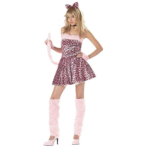 Teen Pink Kitty Cat Costume (Size: Teen 3-5)