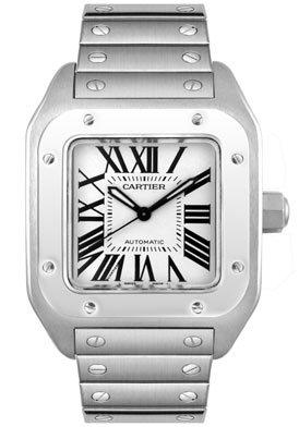 Cartier Men's W200737G Santos 100 XL Stainless Steel Automatic Watch