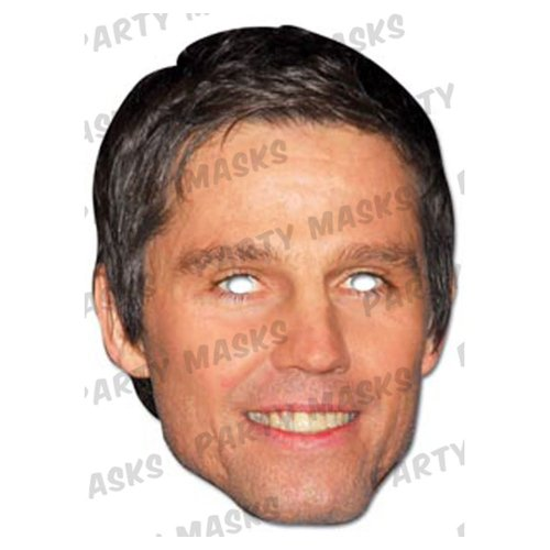 Mask-Arade High Quality Cardboard Jason Orange (Take That) Mask