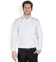 Arihant Men's Cotton Striped Formal Shirt (AR73000140)