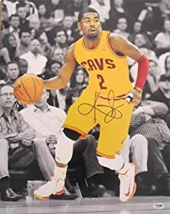 KYRIE IRVING SIGNED AUTHENTIC 16X20 PHOTO CLEVELAND CAVALIERS PSA DNA T93360 by KLF+Sports
