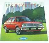 1982 82 Chevrolet Chevy CHEVETTE BROCHURE Scooter Hatchback