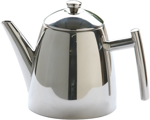 Frieling 18/10 Stainless Steel Primo Teapot With Infuser, 14-Ounce front-55470