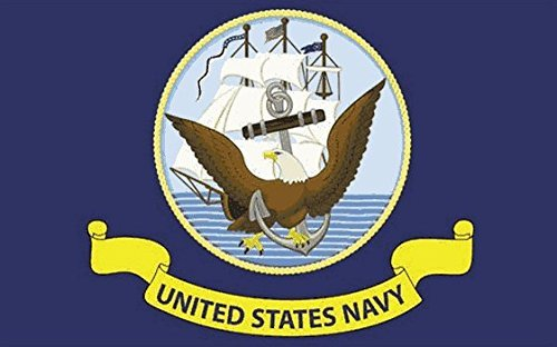 us-navy-drapeau-5ft-x-3ft-taille-100-polyester-oeillets-metal-double-couture
