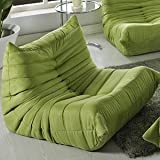 Modway Waverunner Sofa Set in Green