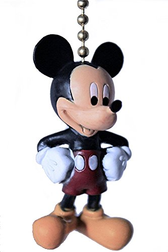 Walt DISNEY Classic Movie assorted Characters CEILING FAN PULL light chain (Mickey Mouse) (Character Ceiling Fans compare prices)