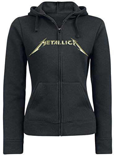 Metallica Justice Photocopy Felpa jogging donna nero XL