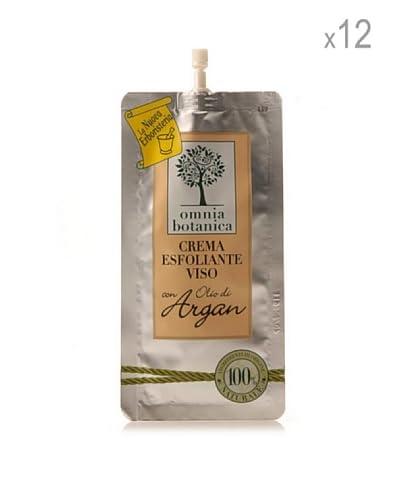 Omnia Botanica Set 12 Exfoliantes Faciales De Aceite De Argán Puro 15 ml Ud.