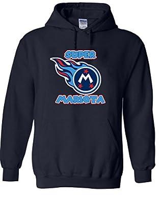 """Marcus Mariota Tennessee Titans """"LOGO1"""" Hooded Sweatshirt"""