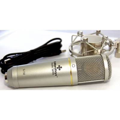 Editors Keys SL150 Studio USB Condenser Microphone