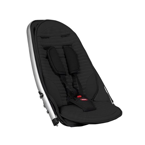 phil&teds Vibe and Verve Double Kit Second Seat, Black