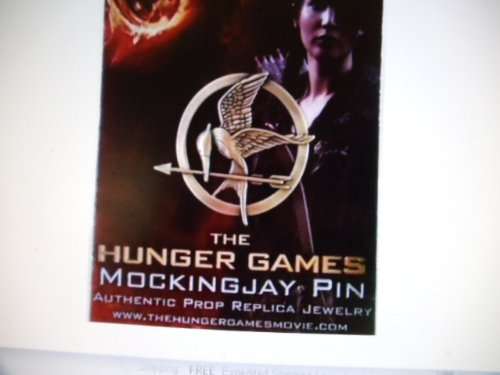 Hunger Games Mockingjay Bird Pin Authentic Prop
