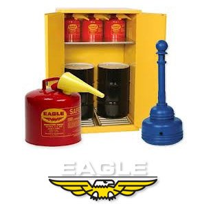 "Eagle 3045 3 Piece Polyethylene Shelf Tray Set for Safety Cabinet, 40"" Width x 16"" Depth"