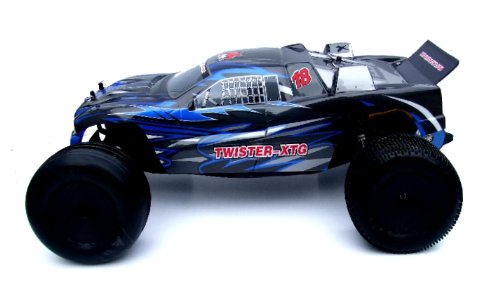 Twister XTG Truck ~ 1/10 Scale Electric RC ~ 2-Wheel Drive Stadium Truck ~ By Redcat Racing ~ In BLUE